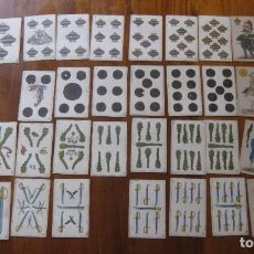 Barajas de cartas: BARAJA POLITICA COMICA REVOLUCION DE 1868 FRANCAR Y CIA ESPAÑA CON HONRA FALTAN 3 CARTAS VER FOTOS. Lote 195533755