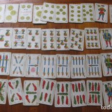 Barajas de cartas: ANTIGUA BARAJA DE CARTAS FOURNIER BANDERA REPUBLICA CLASE OPACA Nº 32 FALTA 1 CARTA. Lote 195534272