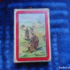 Barajas de cartas: BARAJA ESPAÑOLA MOTIVOS TAURINOS HERACLIO FOURNIER 1960 54 CARTAS. Lote 195610047