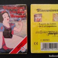 Barajas de cartas: BARAJA INFANTIL FOURNIER -BLANCANIEVES Y LOS 7 ENANITOS - MIB. Lote 222486590