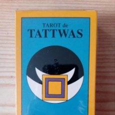 Jeux de cartes: TAROT DE TATTWAS - TRES DE COPAS - J.A. PORTELA - PRECINTADO. Lote 196264260