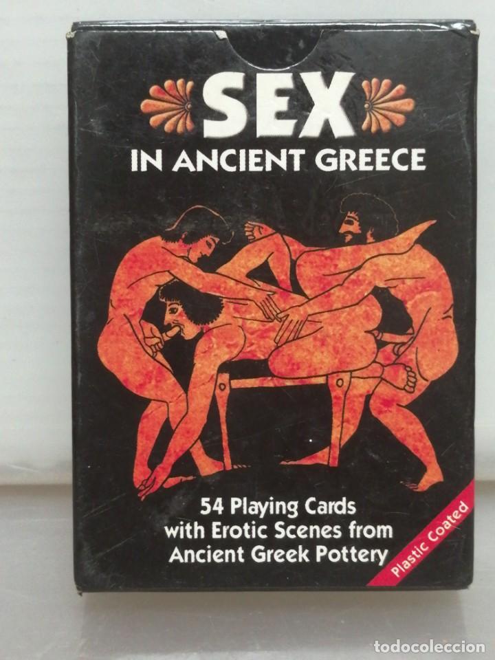 BARAJA POKER ADULTOS SEX IN ANCIENT GREECE GRIEGA (Juguetes y Juegos - Cartas y Naipes - Otras Barajas)