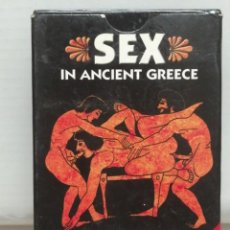 Barajas de cartas: BARAJA POKER ADULTOS SEX IN ANCIENT GREECE GRIEGA. Lote 196326262