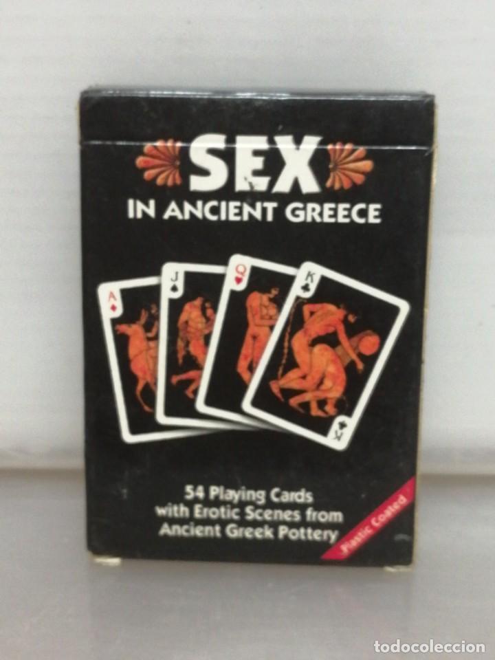Barajas de cartas: BARAJA POKER ADULTOS SEX IN ANCIENT GREECE GRIEGA - Foto 2 - 196326262
