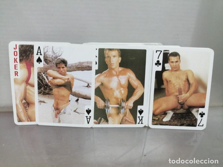 Barajas de cartas: BARAJA POKER ADULTOS CHICOS NUDE PLAYING - Foto 3 - 196326382