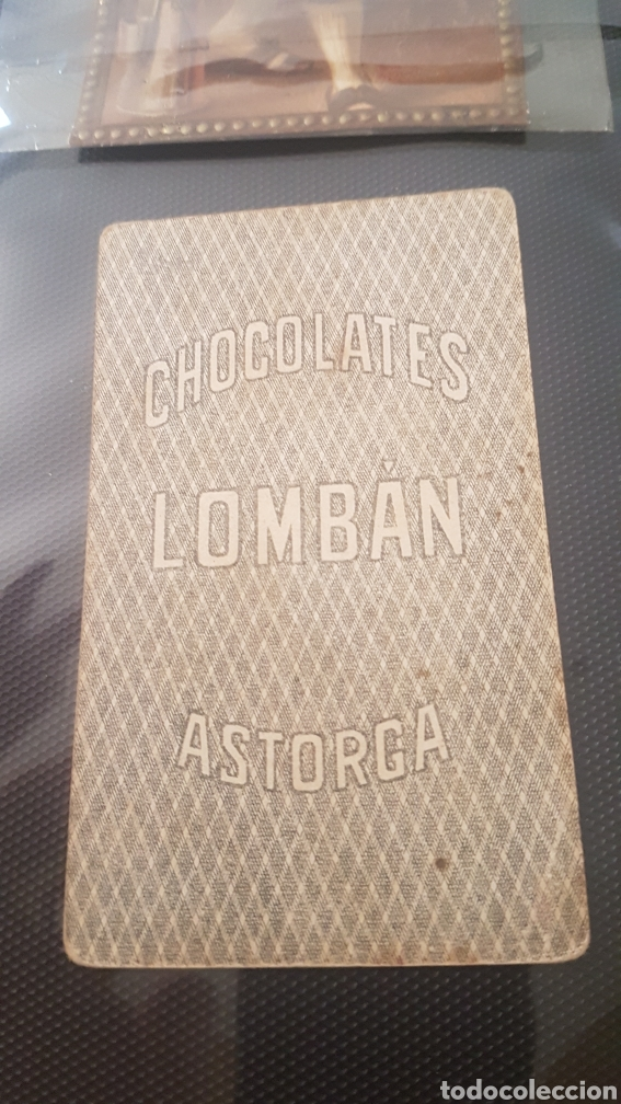 Barajas de cartas: Niños cabezones carta Chocolates LOMBAN ASTORGA - Foto 2 - 195675872