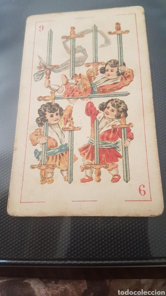 NIÑOS CABEZONES CARTA CHOCOLATES LOMBAN ASTORGA (Juguetes y Juegos - Cartas y Naipes - Barajas Infantiles)