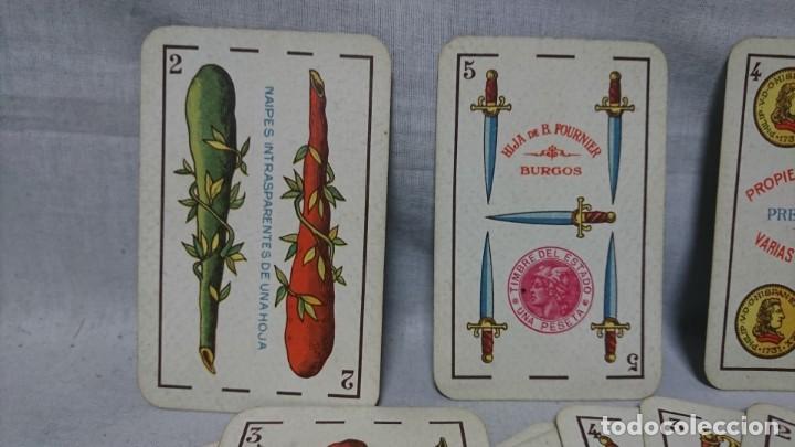 Barajas de cartas: ANTIGUA BARAJA FLORETE, HIJA DE B. FOURNIER, BURGOS - Foto 3 - 196386450