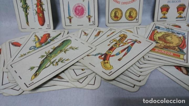Barajas de cartas: ANTIGUA BARAJA FLORETE, HIJA DE B. FOURNIER, BURGOS - Foto 5 - 196386450