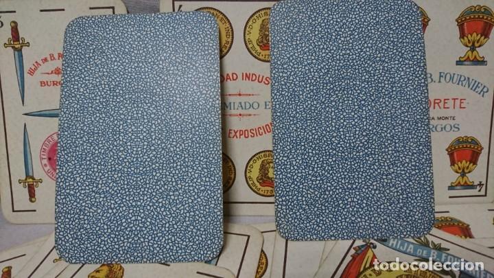 Barajas de cartas: ANTIGUA BARAJA FLORETE, HIJA DE B. FOURNIER, BURGOS - Foto 6 - 196386450