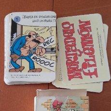 Barajas de cartas: MORTADELO Y FILEMON COMPLETA BARAJA CARTAS 1994 CON INSTRUCCIONES.. Lote 196572008