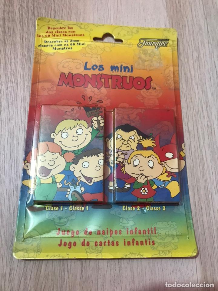 2 BARAJAS JUEGO DE NAIPES - LOS MINI MOUSTROS DE FOURNIER (Juguetes y Juegos - Cartas y Naipes - Barajas Infantiles)