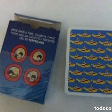 Barajas de cartas: POKER -BEATLES- YELLOW SUBMARINE- NUEVAS. Lote 197034286