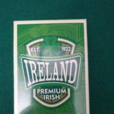 Barajas de cartas: BARAJA IRLANDESA PÓKER SIN USAR, CON MEDIO PRECINTO. Lote 197089978
