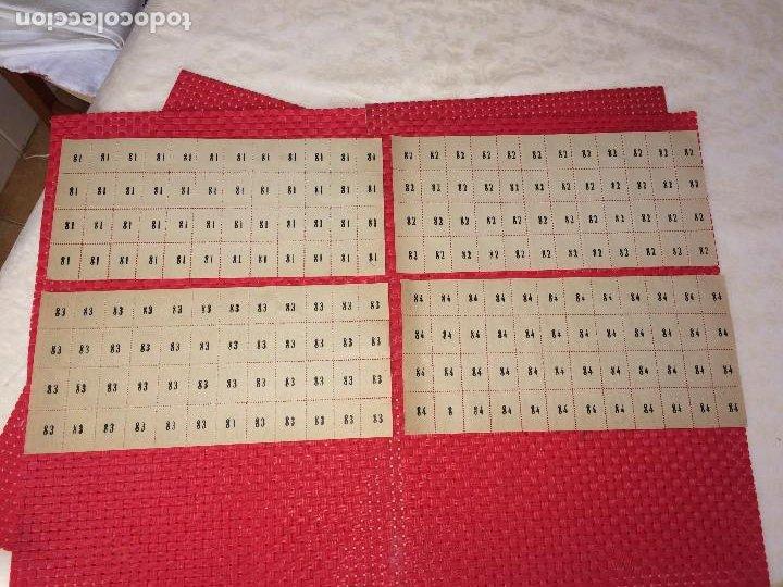 Barajas de cartas: NAIPES ESPAÑOLES EN PLIEGOS DE PAPEL - CON NUMERACIONES TRASERAS - AÑOS 30/40 - Foto 5 - 197090880