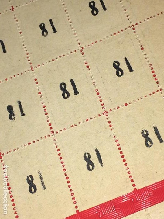 Barajas de cartas: NAIPES ESPAÑOLES EN PLIEGOS DE PAPEL - CON NUMERACIONES TRASERAS - AÑOS 30/40 - Foto 6 - 197090880
