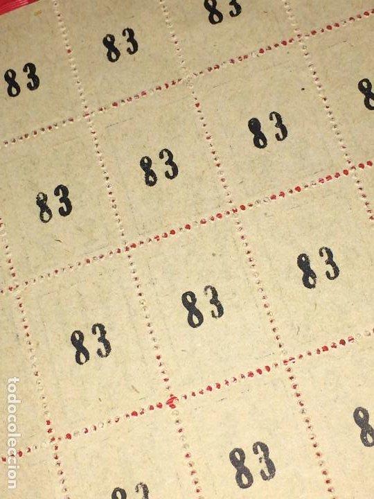 Barajas de cartas: NAIPES ESPAÑOLES EN PLIEGOS DE PAPEL - CON NUMERACIONES TRASERAS - AÑOS 30/40 - Foto 8 - 197090880
