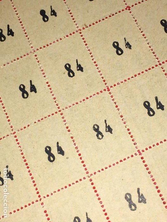 Barajas de cartas: NAIPES ESPAÑOLES EN PLIEGOS DE PAPEL - CON NUMERACIONES TRASERAS - AÑOS 30/40 - Foto 9 - 197090880