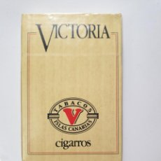 Barajas de cartas: BARAJA ANTIGUA DE CIGARRITOS VICTORIA A ESTRENAR. Lote 197633755