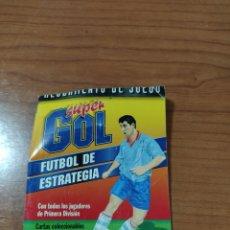 Barajas de cartas: REGLAMENTO DE JUEGO SUPER GOL CARTAS COLECCIONABLES MARCA FOURNIER. Lote 197709880