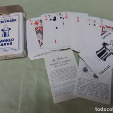 Barajas de cartas: BARAJA DE MAGIA STUTHARS'S SVENGALI MARKED CARDS . Lote 197721695
