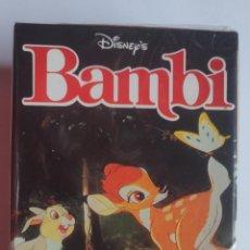 Barajas de cartas: BARAJA INFANTIL BAMBI. Lote 197743161