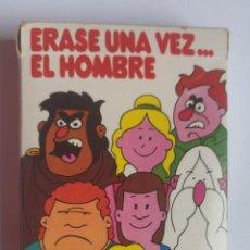 Barajas de cartas: BARAJA INFANTIL ERASE UNA VEZ EL HOMBRE. Lote 197748960