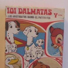 Barajas de cartas: BARAJA INFANTIL 101 DALMATAS Y...LOS ARISTOGATOS-BAMBI-EL PATITO FEO (1ª EDICIÓN). Lote 197767195
