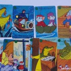 Barajas de cartas: BARAJA INCOMPLETA LOS RESCATADORES. Lote 197808931