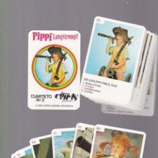Jeux de cartes: BARAJA CARTAS - PIPI CALZASLARGAS / PIPPI LANGSTRUMPF - CUARTETO Nº 2 - NAIPES COMAS / 1975. Lote 197822810