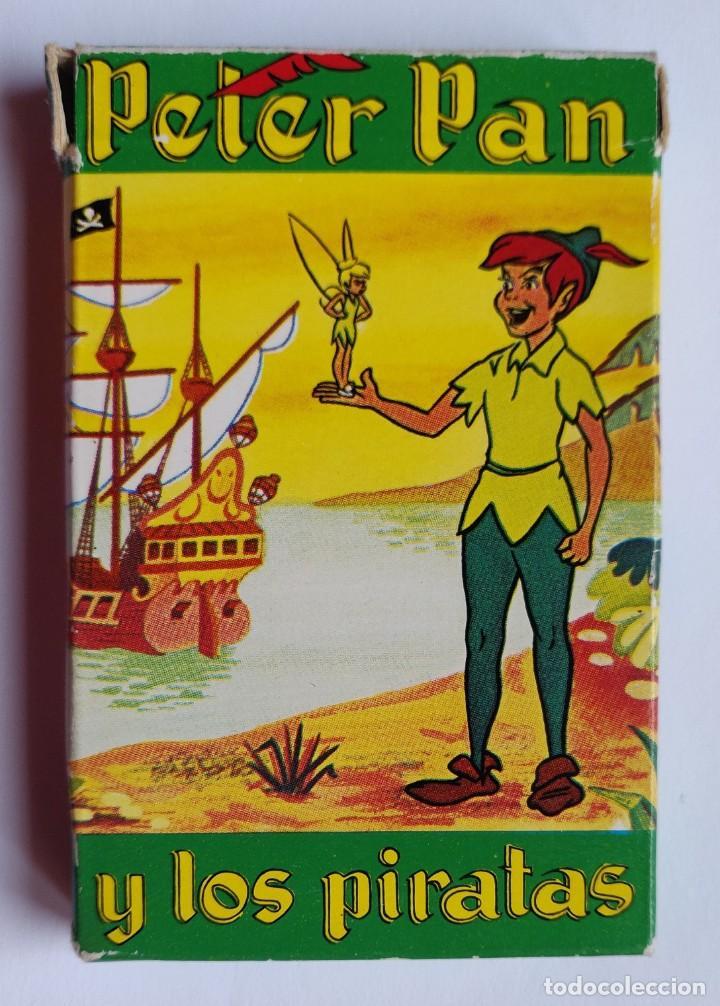 BARAJA INFANTIL PETER PAN Y LOS PIRATAS (EDICIÓN 1983) (Juguetes y Juegos - Cartas y Naipes - Barajas Infantiles)
