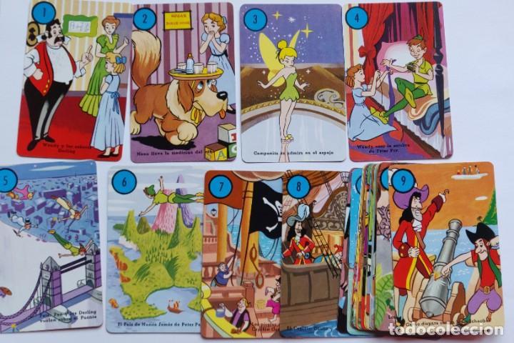 Barajas de cartas: Baraja infantil PETER PAN Y LOS PIRATAS (Edición 1983) - Foto 4 - 197847158