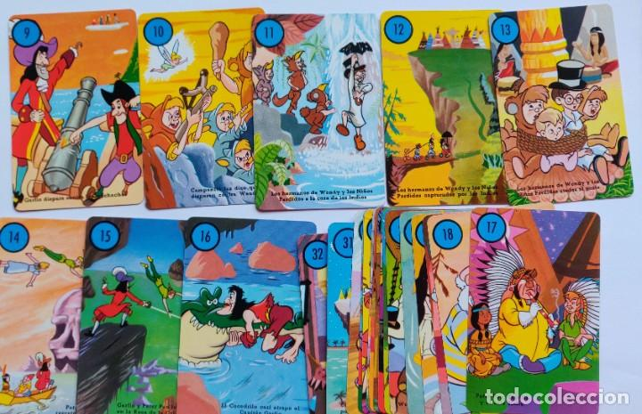Barajas de cartas: Baraja infantil PETER PAN Y LOS PIRATAS (Edición 1983) - Foto 5 - 197847158