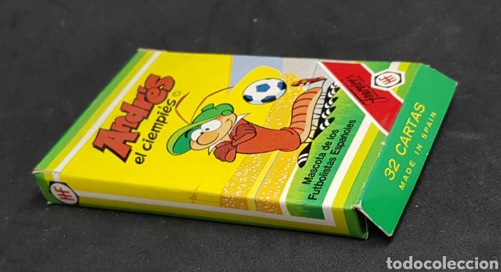 BARAJA FOURNIER - ANDRES EL CIEMPIES - NUEVA - CAR175 (Juguetes y Juegos - Cartas y Naipes - Barajas Infantiles)