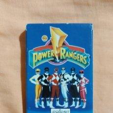 Baralhos de cartas: BARAJA DE CARTAS POWER RANGERS - HERACLIO FOURNIER 1995 (COMPLETA, EN BUEN ESTADO). Lote 197952742