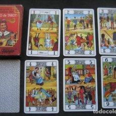 Barajas de cartas: ARCANOS Y CABALLOS DEL JUEGO DEL TAROT. FOURNIER. Lote 198065760