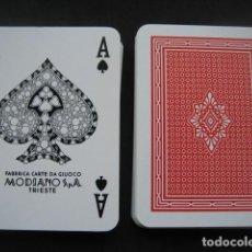 Barajas de cartas: BARAJA DE POKER MODIANO. Lote 198066268