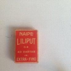 Barajas de cartas: BARAJA DE 48 CARTAS - NAIPE LILIPUT - FOURNIER - VITORIA - AÑOS 50 -60. Lote 198067306