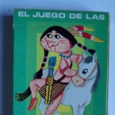 Barajas de cartas: BARAJA INFANTIL EL JUEGO DE LAS RAZAS. Lote 198119516