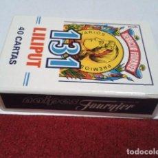 Barajas de cartas: FOURNIER NAIPES CARTAS ( LILIPUT 131 DE 40 CARTAS ) BARAJA SIN ESTRENAR NUEVA. Lote 198254378