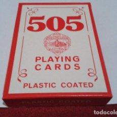 Jeux de cartes: FOURNIER BARAJA ( Nº 505 - EN ROJO - POCKER - 54 CARTAS ) SIN ESTRENAR NUEVA. Lote 198255387