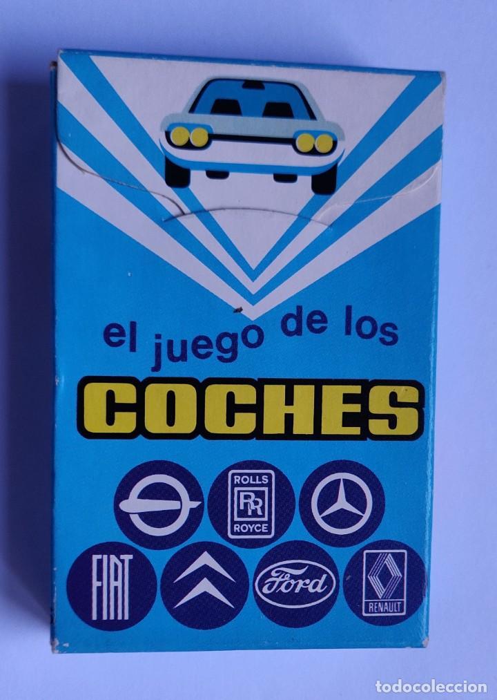 Barajas de cartas: Baraja infantil EL JUEGO DE LOS COCHES - Foto 2 - 198500095
