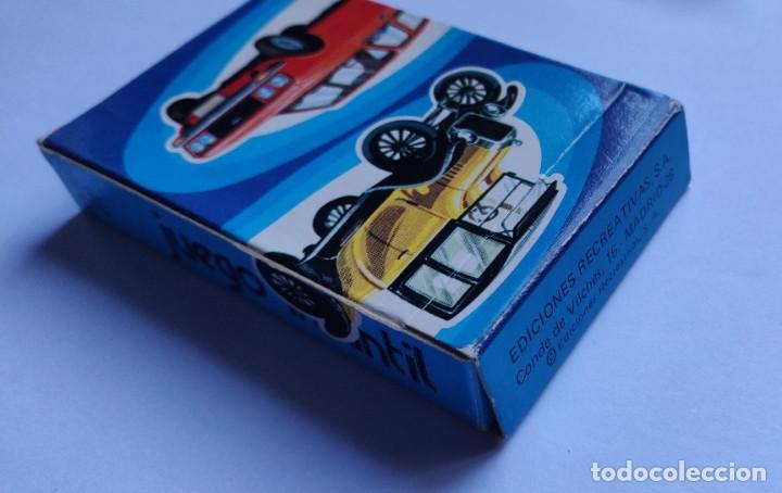 Barajas de cartas: Baraja infantil EL JUEGO DE LOS COCHES - Foto 3 - 198500095