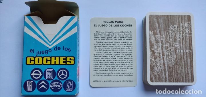 Barajas de cartas: Baraja infantil EL JUEGO DE LOS COCHES - Foto 4 - 198500095