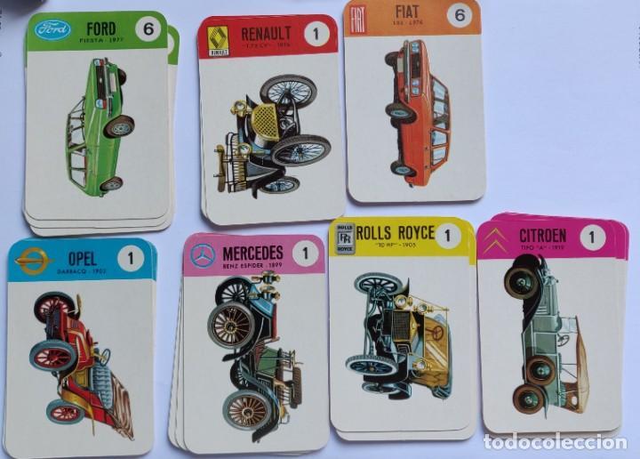 Barajas de cartas: Baraja infantil EL JUEGO DE LOS COCHES - Foto 5 - 198500095