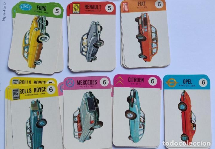 Barajas de cartas: Baraja infantil EL JUEGO DE LOS COCHES - Foto 6 - 198500095