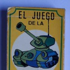 Barajas de cartas: BARAJA INFANTIL EL JUEGO DE LA GUERRA. Lote 198503731