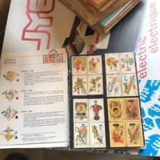 Barajas de cartas: LOTE DE 2 CATÁLOGOS DE BARAJAS ANTIGUOS. Lote 198521360