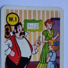 Barajas de cartas: CARTAS SUELTAS BARAJA INFANTIL PETER PAN WALT DISNEY. Lote 198523670