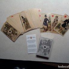 Mazzi di carte: BARAJA IMPERIAL FRANCESA.1860.REPRODUCION 2004.-F-4. Lote 198641491